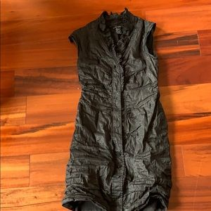 Etcetera ruched   Silk dress